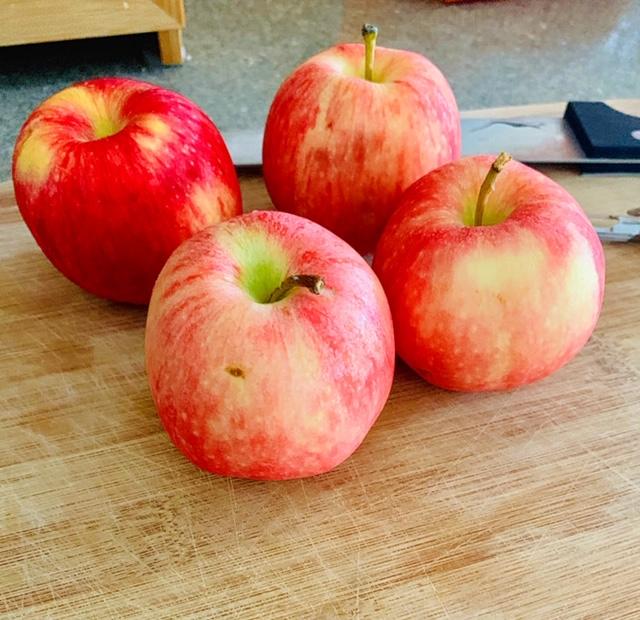 Healthy Cinnamon Apple Crisp