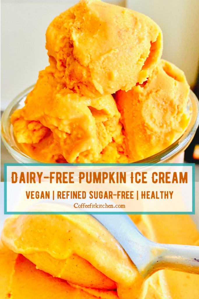 Dairy-Free Pumpkin Ice Cream