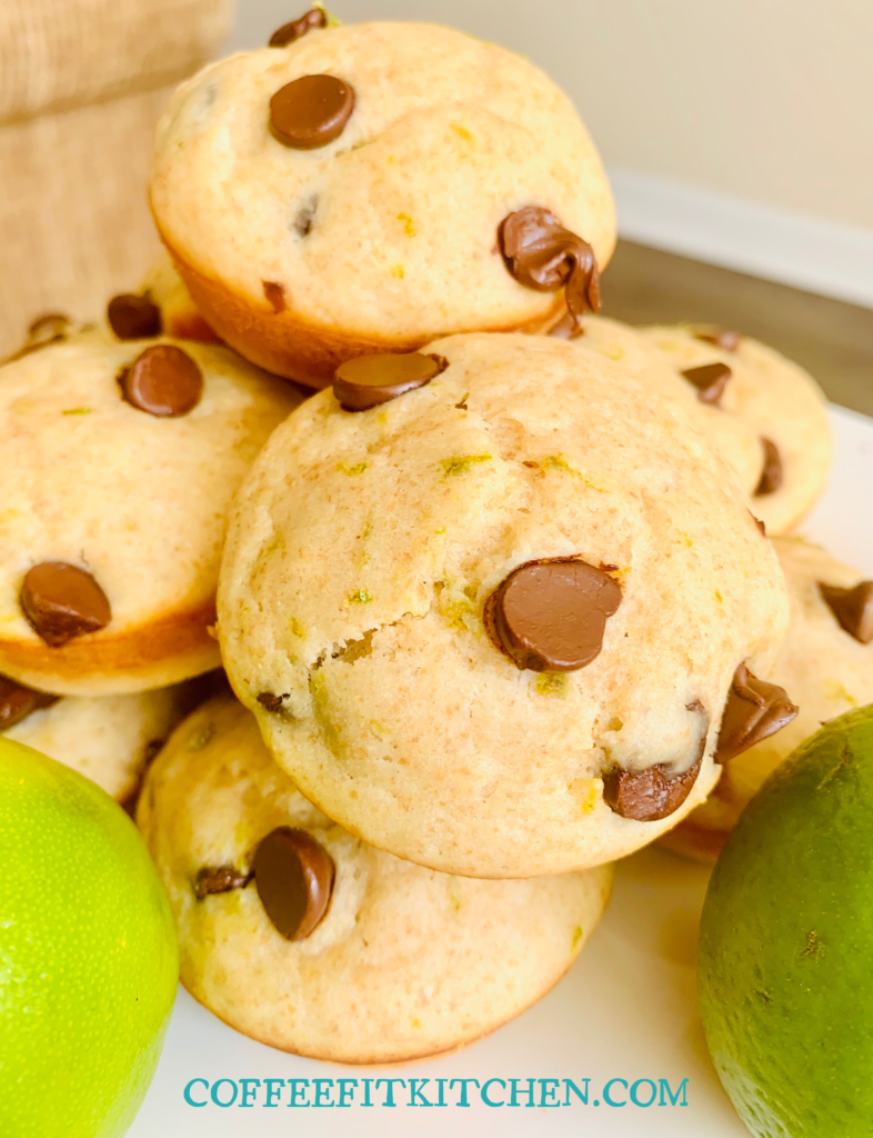 Key Lime Chocolate Chip Muffins