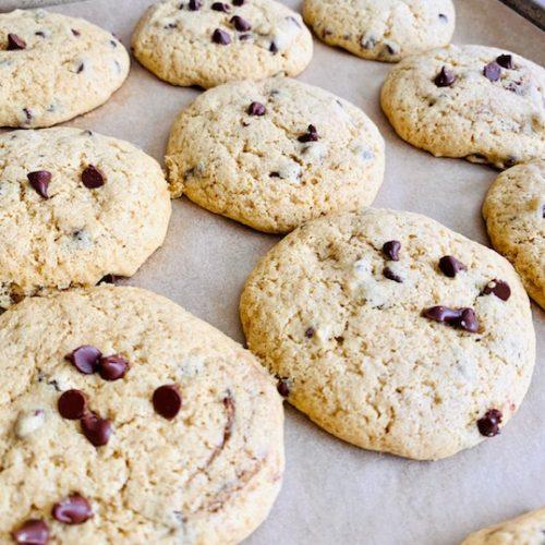 Healthy Gluten-Free Chocolate Chip Cookies