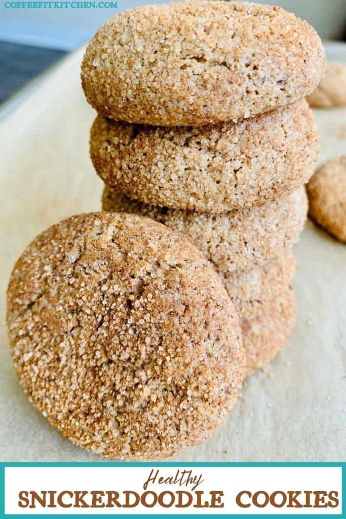 Healthy Snickerdoodle Cookies