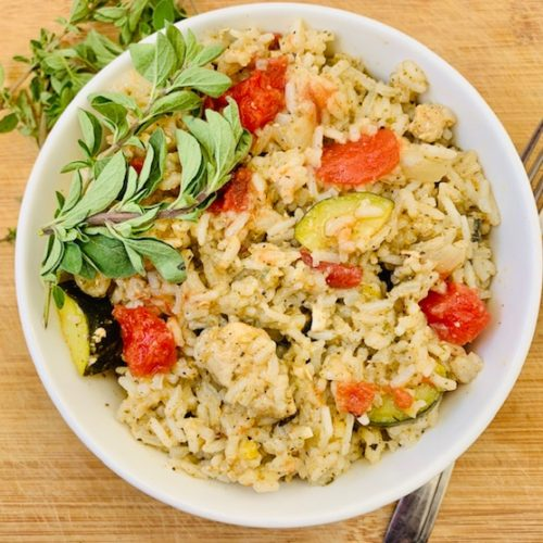 One-Pot Italian Chicken and Rice