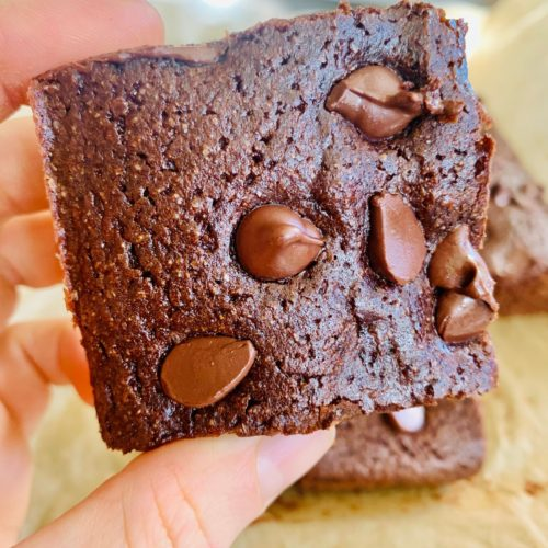The Best Whole Wheat Brownies