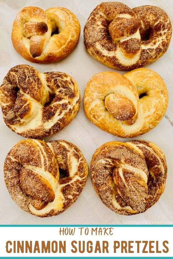 How to make cinnamon sugar pretzels