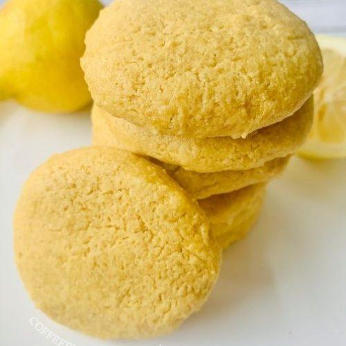 Dairy-free lemon cookies