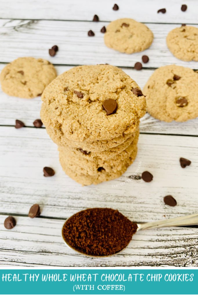 Healthy Whole Wheat Chocolate Chip Cookies